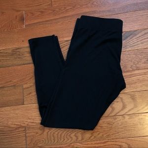 Aerie size large black leggings pants